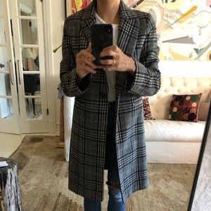 Zara Woman Tartan Jacket.